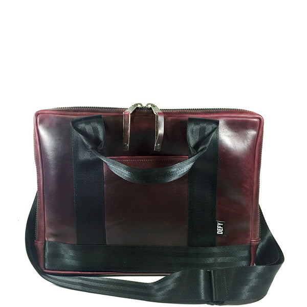 Slim Briefcase | Horween OxBlood Leather Limited Edition