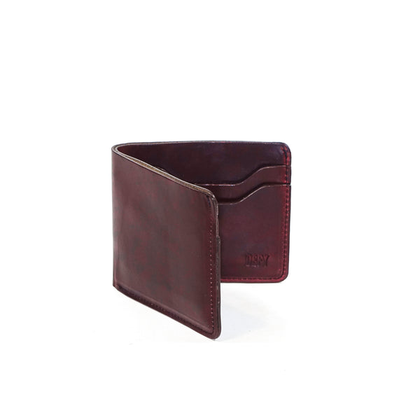 The Boss Wallet | Horween OxBlood Leather