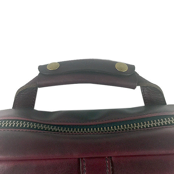 Defender Workcase Day Tripper | Horween OxBlood Leather | Last 1!!!!