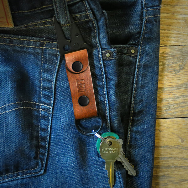 Key Chain | Horween Rio Latigo Leather
