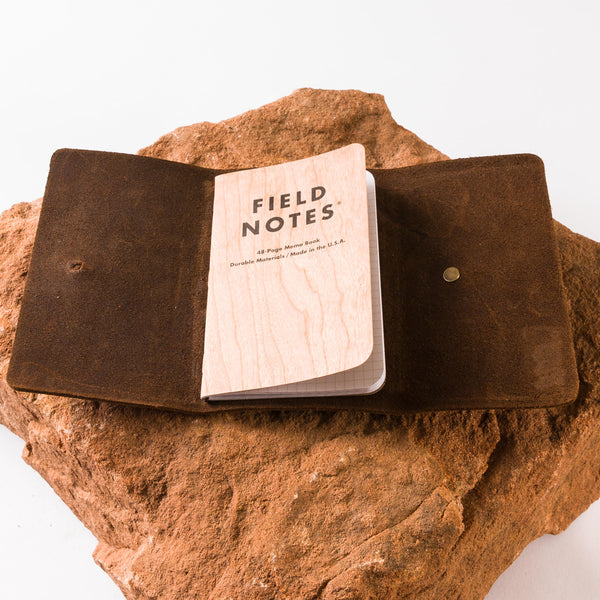 Mesquite Field Notes/Passport Cover | Horween Predator Leather | Tres Cuervos | Last 1