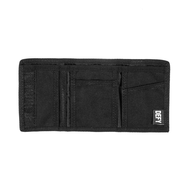 The Kind Wallet | Black Ballistic Nylon