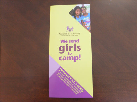 Brochure - We Send Girls to Camp