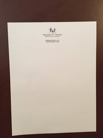 Logo sheets and/or Envelopes (Large)