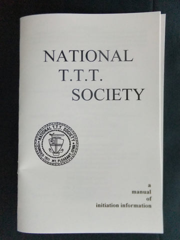 Initiation Ceremony Manual