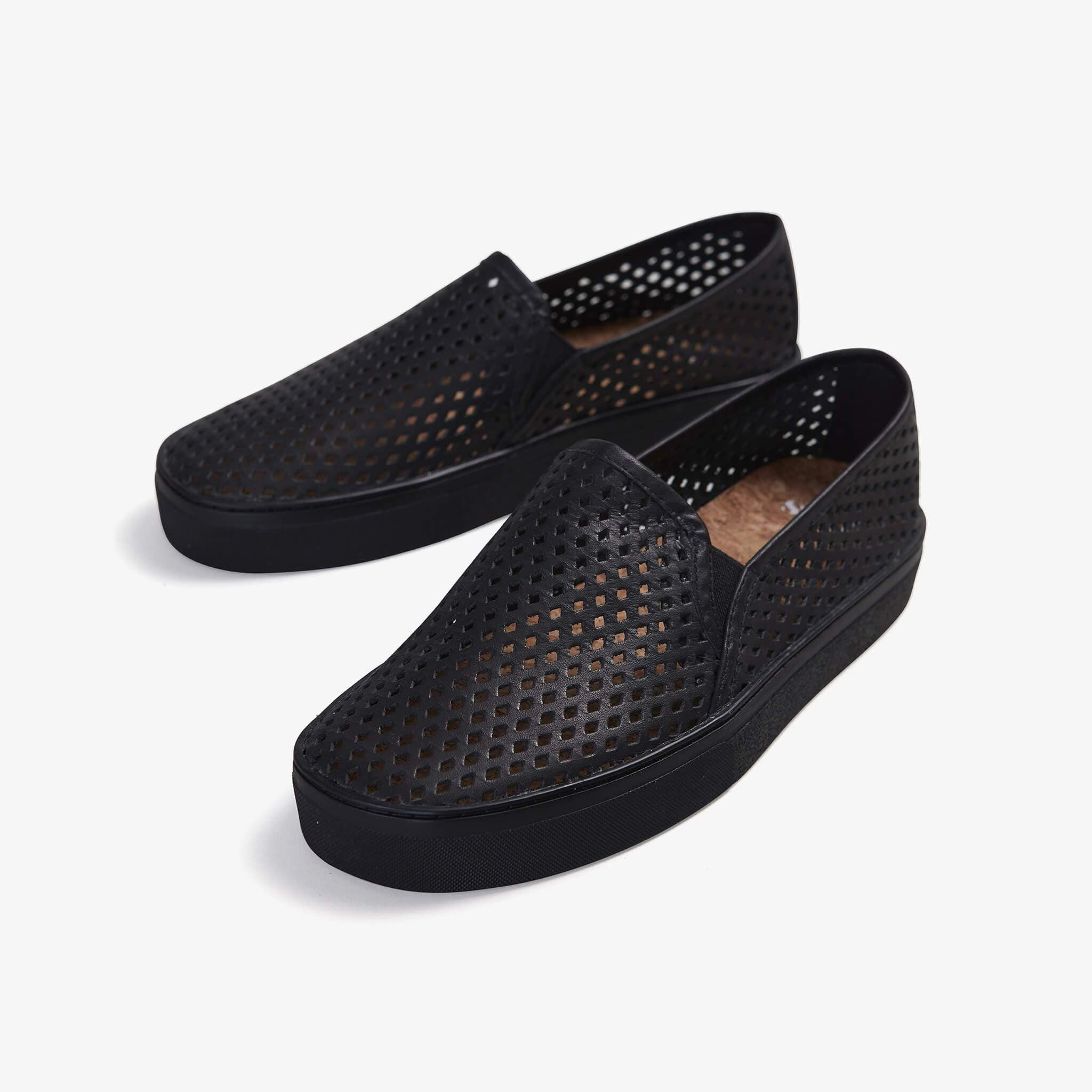 Jibs Classic Jet Black Royale Slip On Sneaker-Shoe