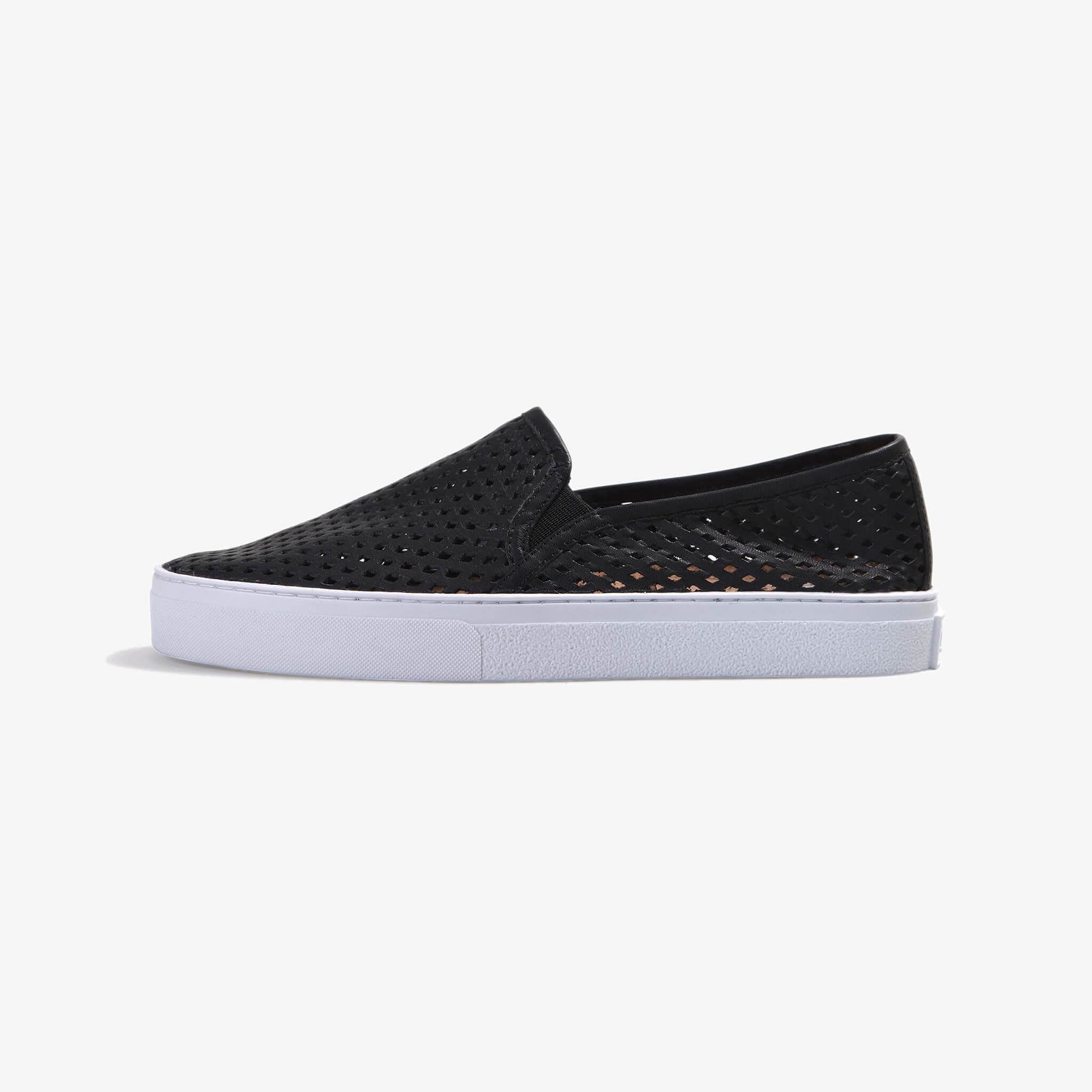 Jibs Classic Jet Black Slip On Sneaker-Shoe Side