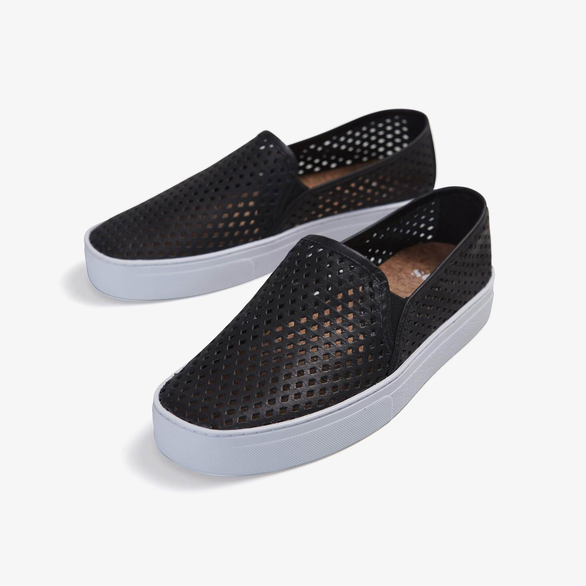 Jibs Classic Jet Black Slip On Sneaker-Shoe