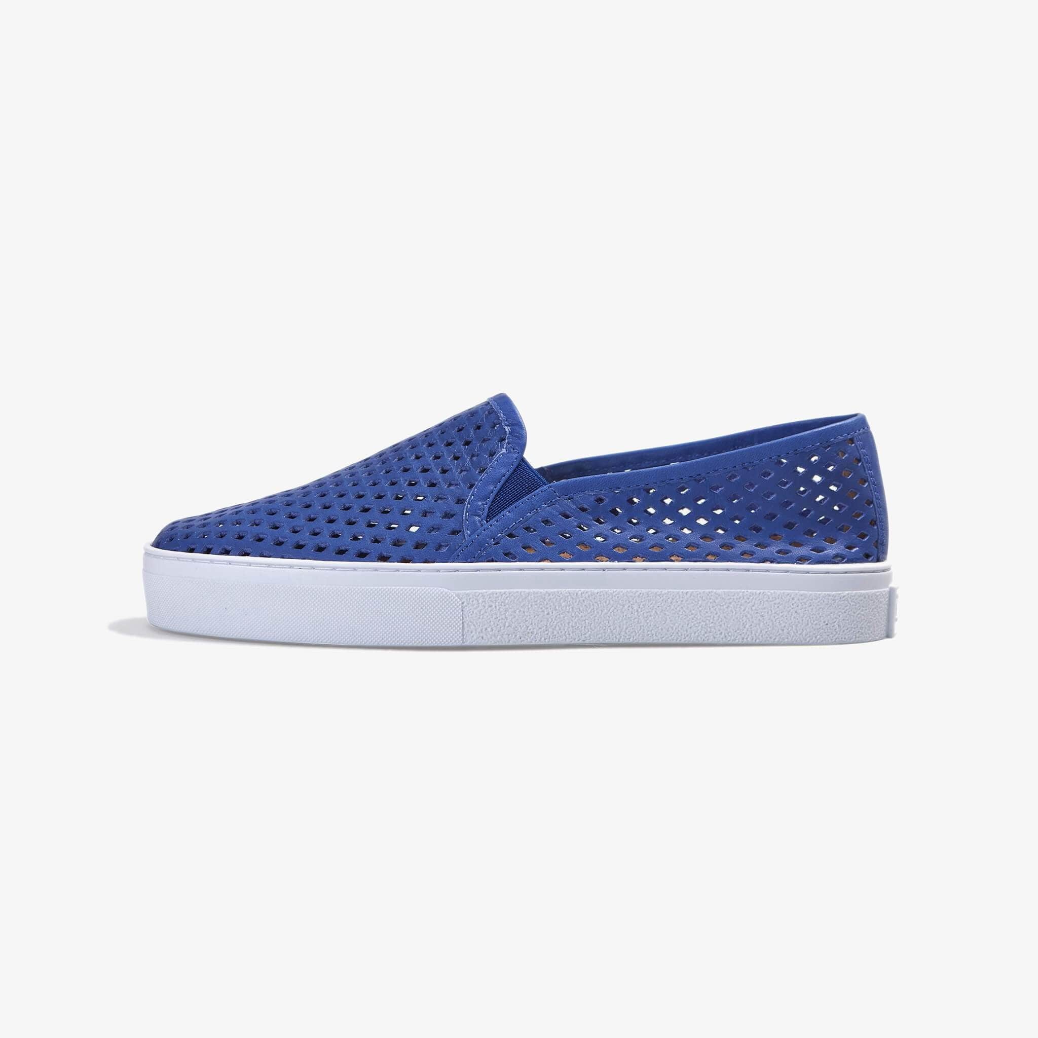 Jibs Classic Galaxy Blue Slip On Sneaker-Shoe Side