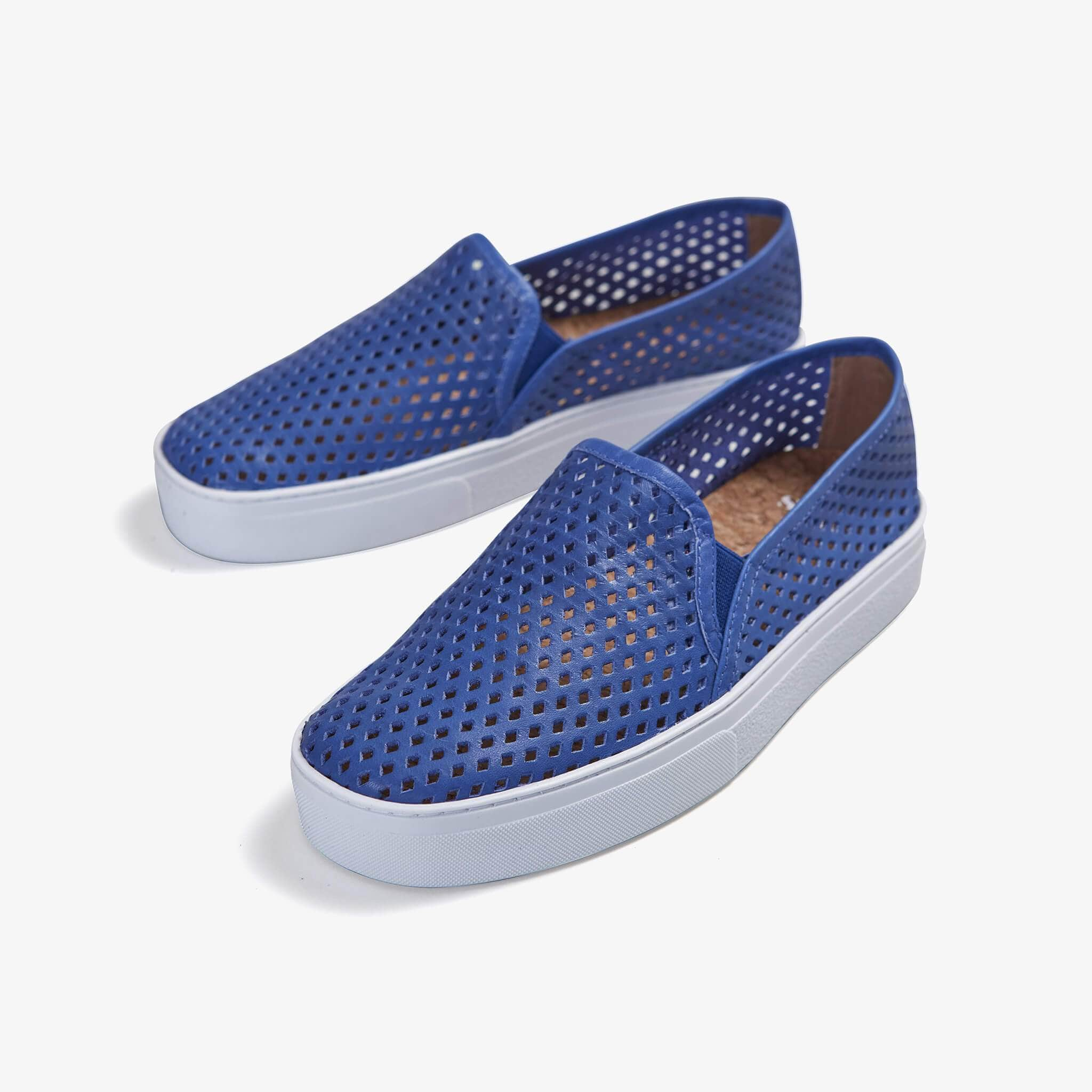 Jibs Classic Galaxy Blue Slip On Sneaker-Shoe