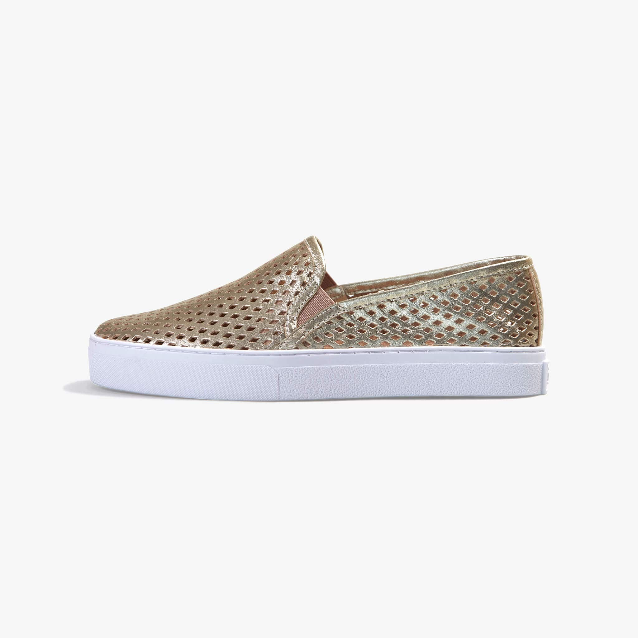 Jibs Classic Gold Slip On Sneaker-Shoe Side