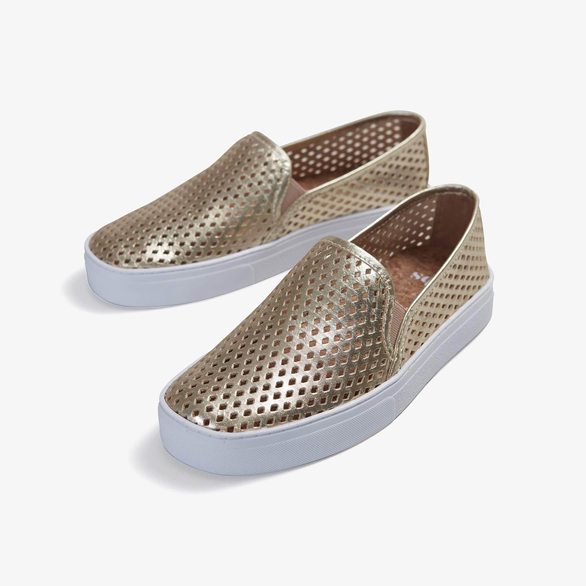 Jibs Classic Gold Slip On Sneaker-Shoe