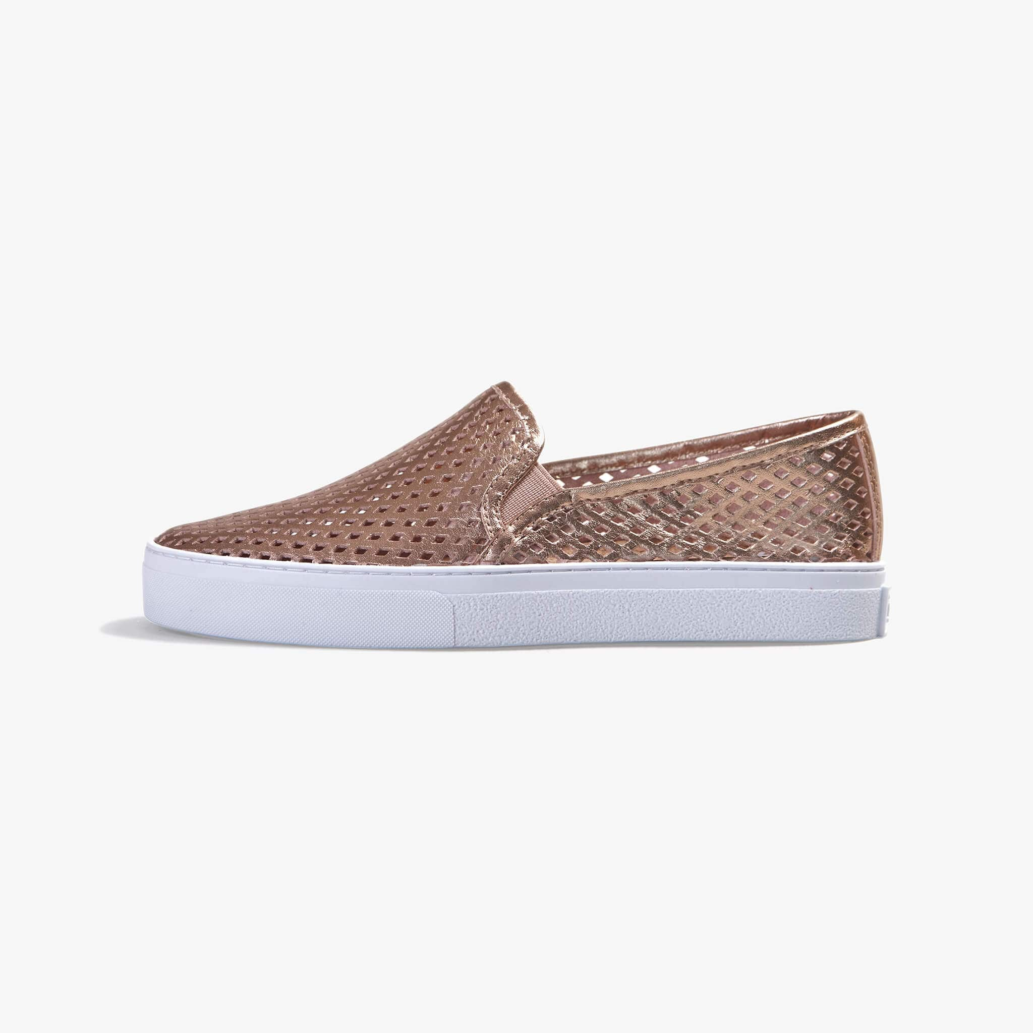 Jibs Classic Rose Gold Slip On Sneaker-Shoe Side
