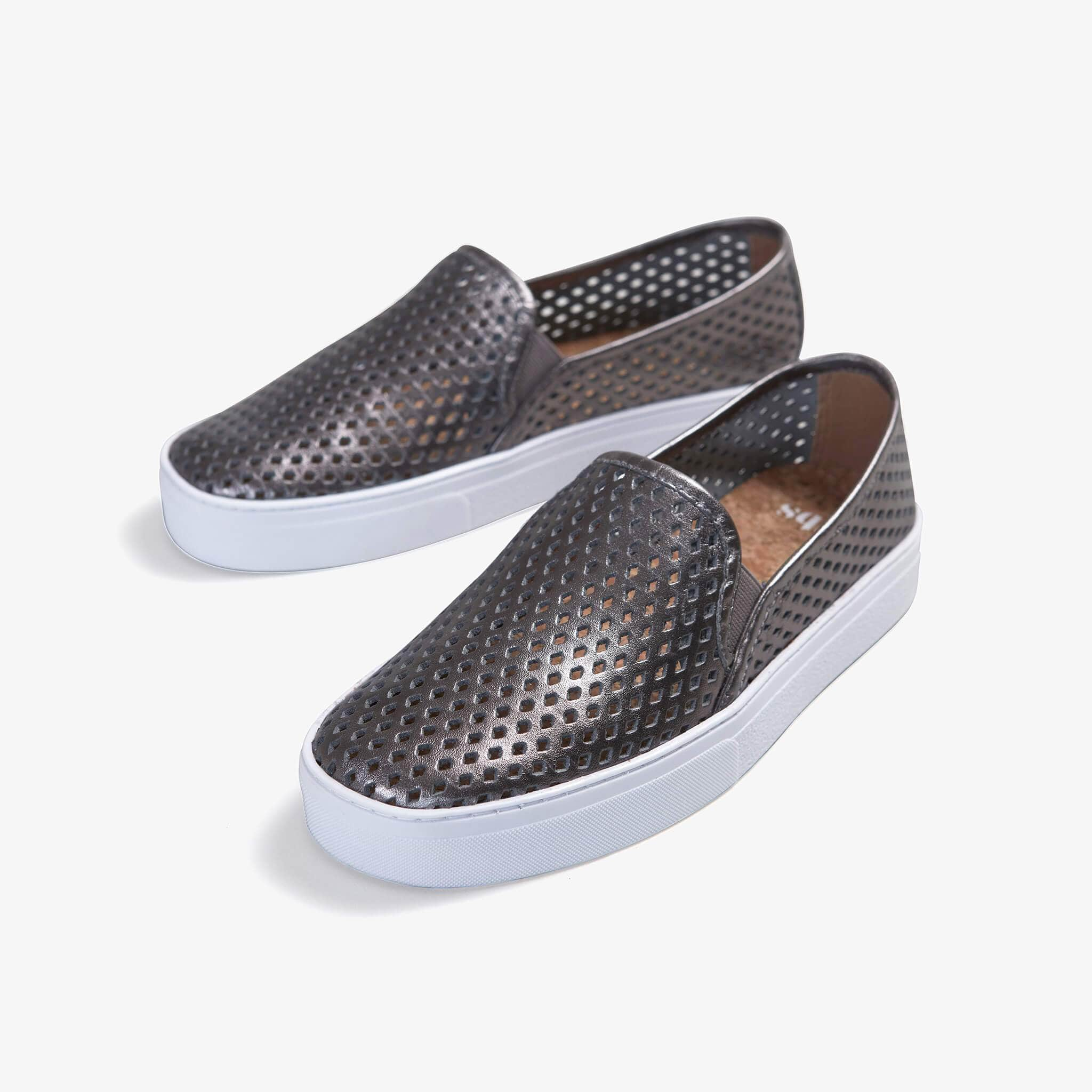 Jibs Classic Space Gray Slip On Sneaker-Shoe