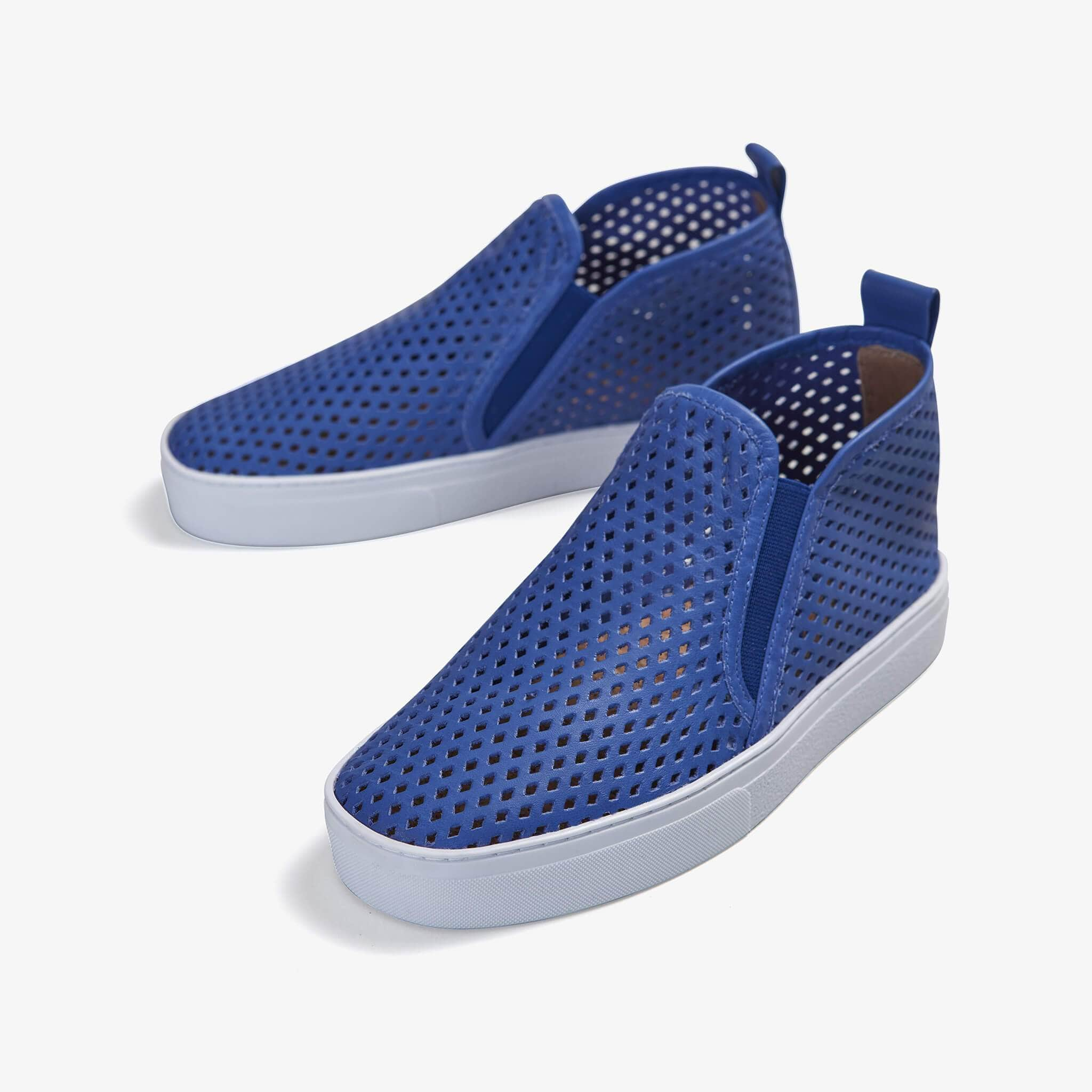 Jibs Mid Rise Galaxy Blue Slip On Sneaker Bootie