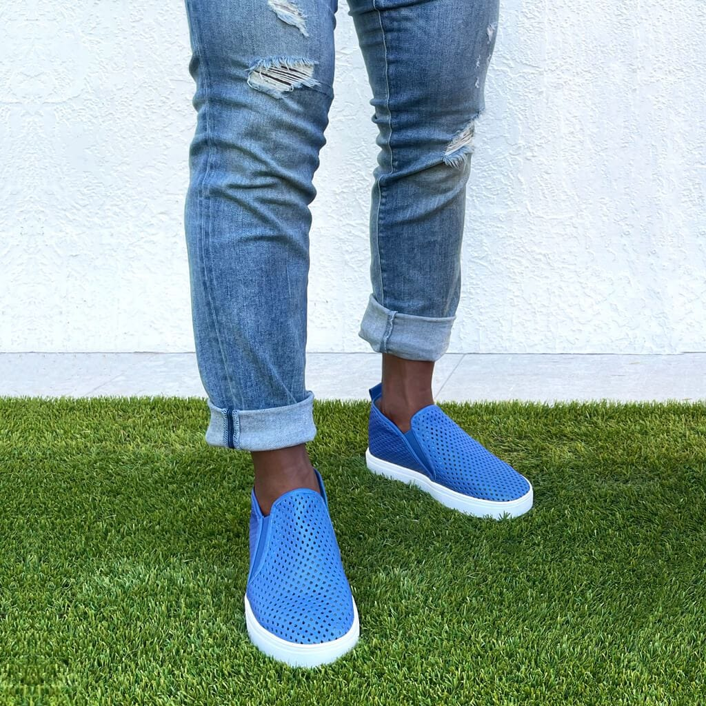 Jibs Mid Rise Galaxy Blue Slip On Sneaker Bootie Outdoors Mens