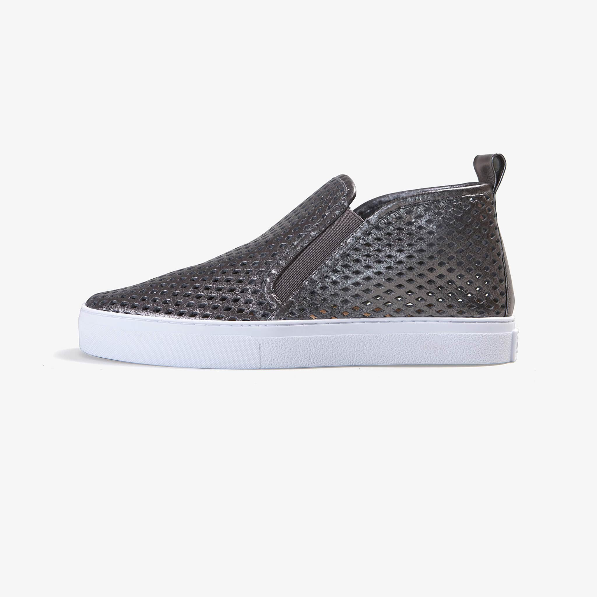 Jibs Mid Rise Rise Space Slip On Sneaker Bootie Side