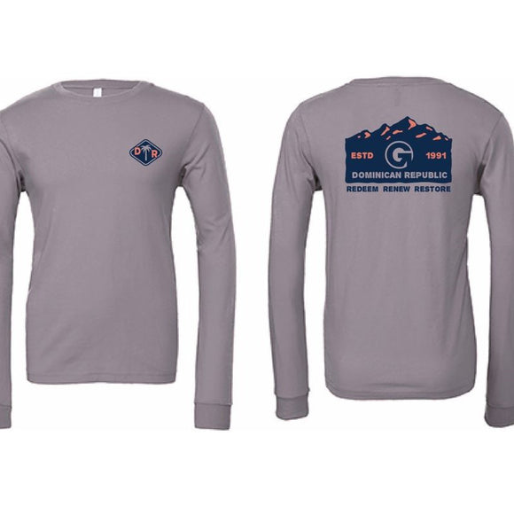 Grey Long Sleeve - DR Mountains