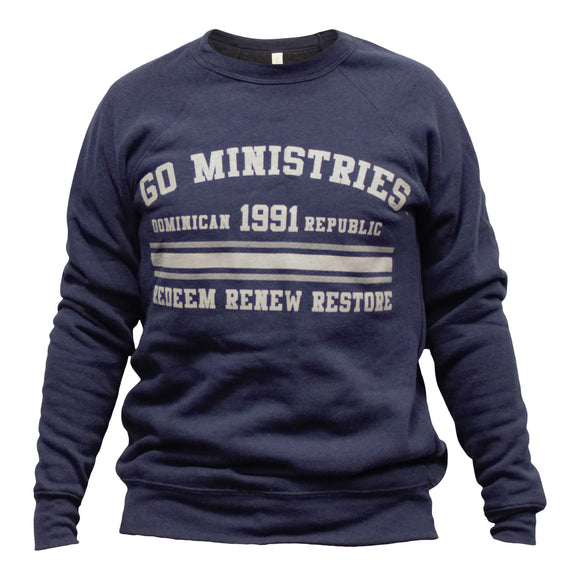 GO Navy Sweatshirt