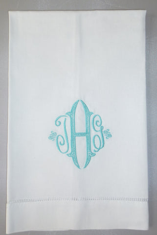 Made to Order Seagrove Font Linen Hand Towel