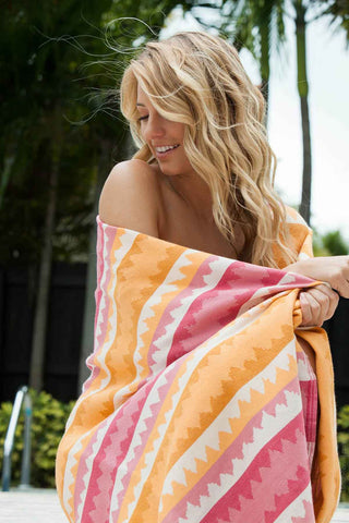 Scents and Feel Fouta Bath Ethnic Jacquard