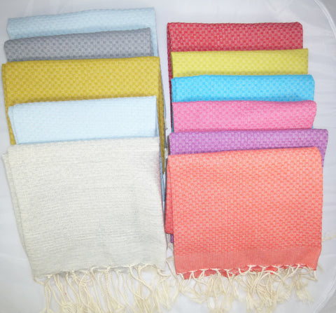 Scents and Feel Solid Fouta Guest Tow