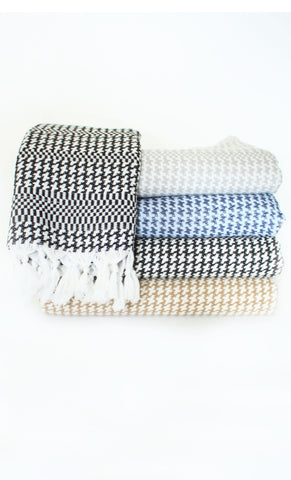 "Scents and Feel Fouta Bath Towel ""Pied de Coq"""