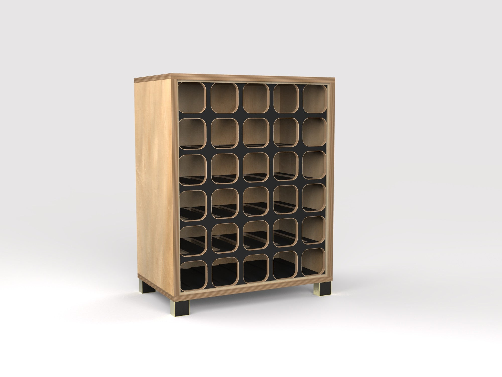 WineRack Side Table
