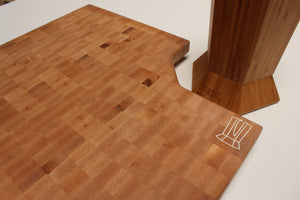LIMITED Maple Butcher Block w/360KB logo