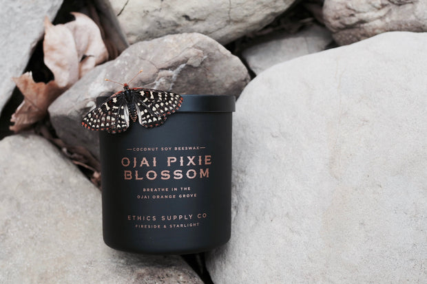 FIRESIDE + STARLIGHT  | Ojai Pixie Blossom Travel Candle
