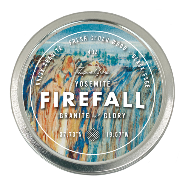 NATIONAL PARK CANDLE | Yosemite National Park's Firefall Travel Candle