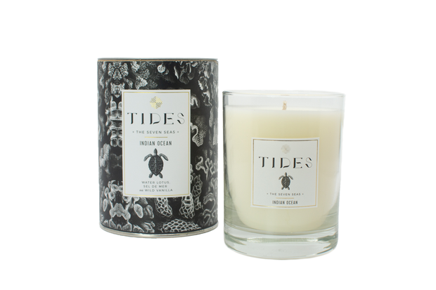 TIDES | Seven Seas | Indian Ocean 11 oz Candle