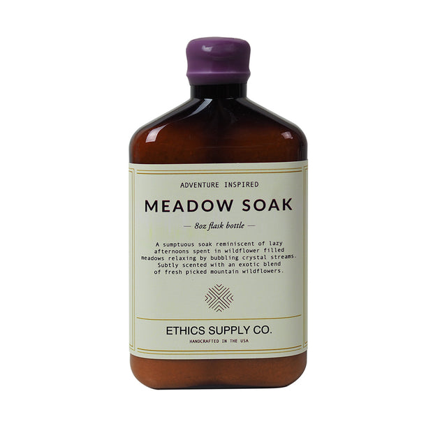 SOOTHING SOAK | Meadow Soak 14 oz Bath Salt Soak