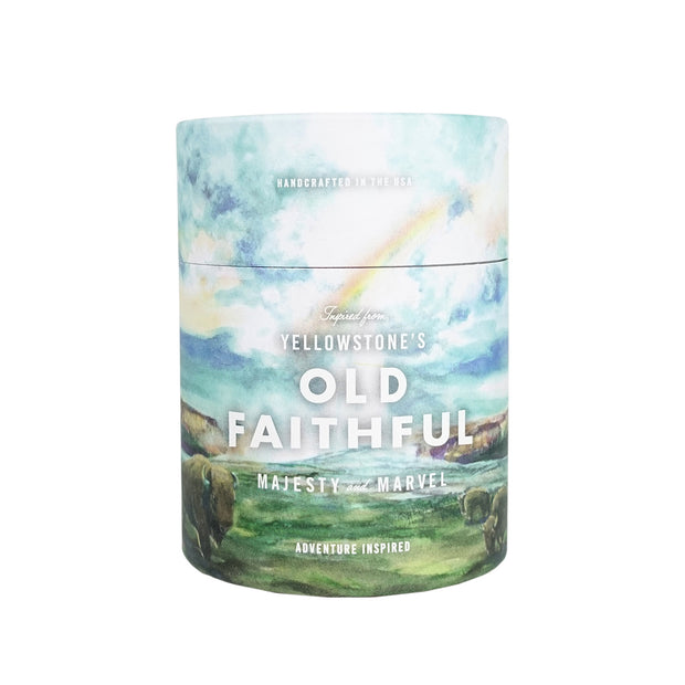 NATIONAL PARK CANDLE  | Yellowstone National Park | Old Faithful 11 oz Candle