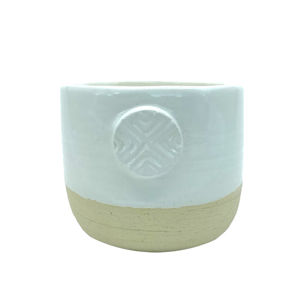 SOULFUL ADVENTURES  | Salt + Light Organic Handmade Ceramic Candle