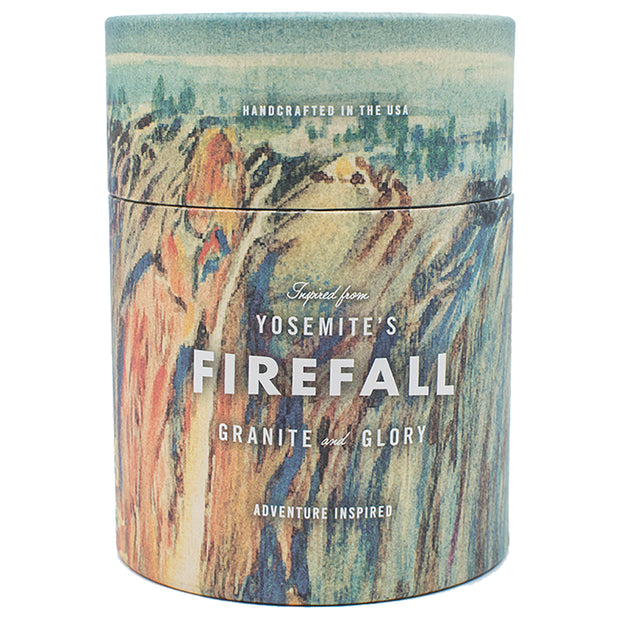 NATIONAL PARK CANDLE  | Yosemite National Park | Firefall 11 oz Candle