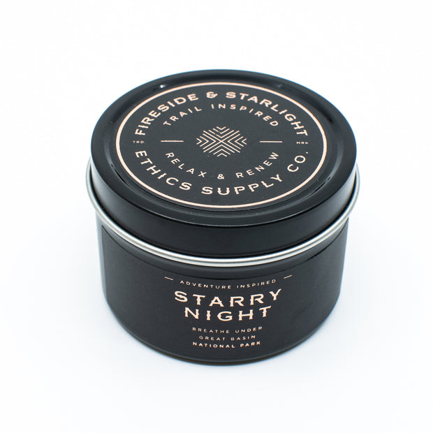 FIRESIDE + STARLIGHT  | Great Basin's Starry Night Travel Candle