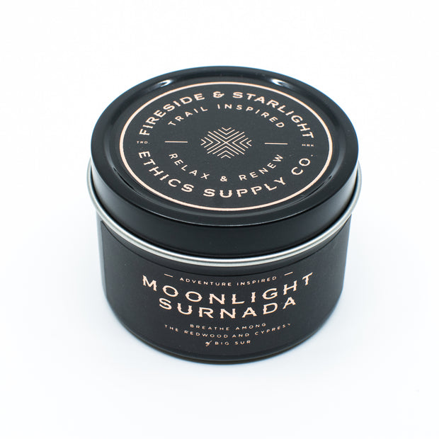 FIRESIDE + STARLIGHT  | Moonlight Surnada Travel Candle