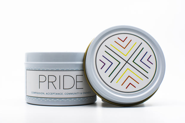 PRIDE Travel Candle