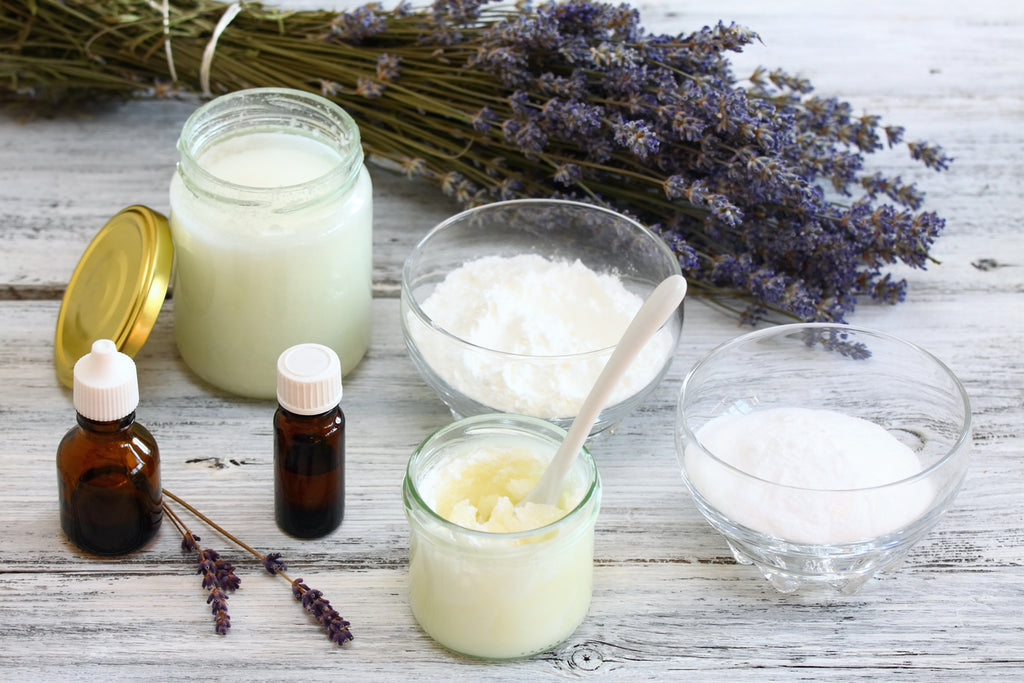 antiperspirant natural oil ingredients deodorant homemade