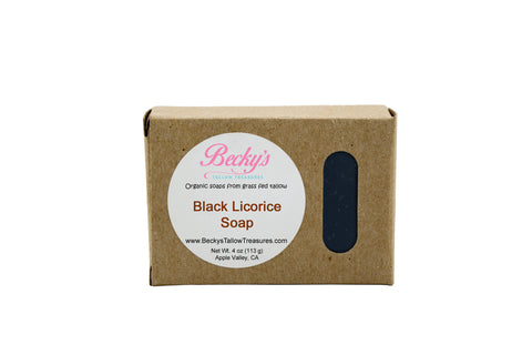 Black Licorice Body Soap