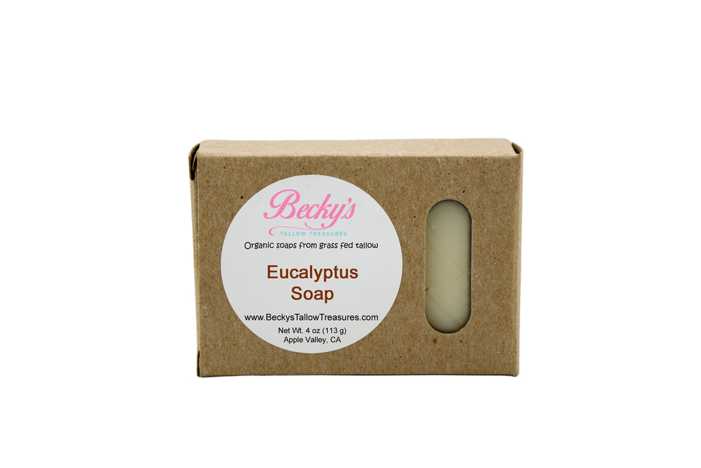 Eucalyptus Body Soap -- Smudged Label