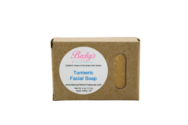 Turmeric Facial Soap