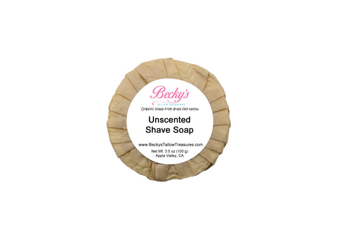 Unscented Shave Soap