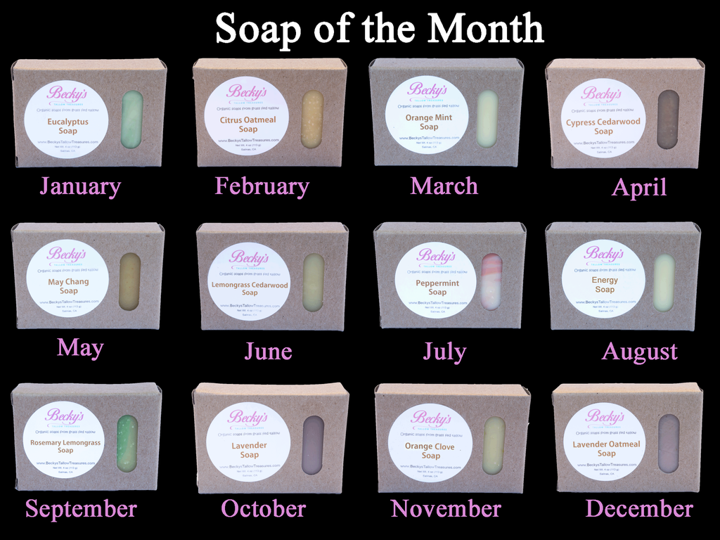 Soap of the Month Club - 6 Month Subscription