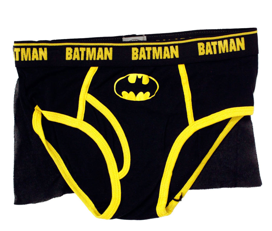 Batman Dark Night Caped Brief for Mens Briefs Underwear