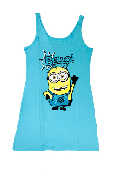 "Despicable Me Juniors Minion ""Bello"" Sleep Dress"