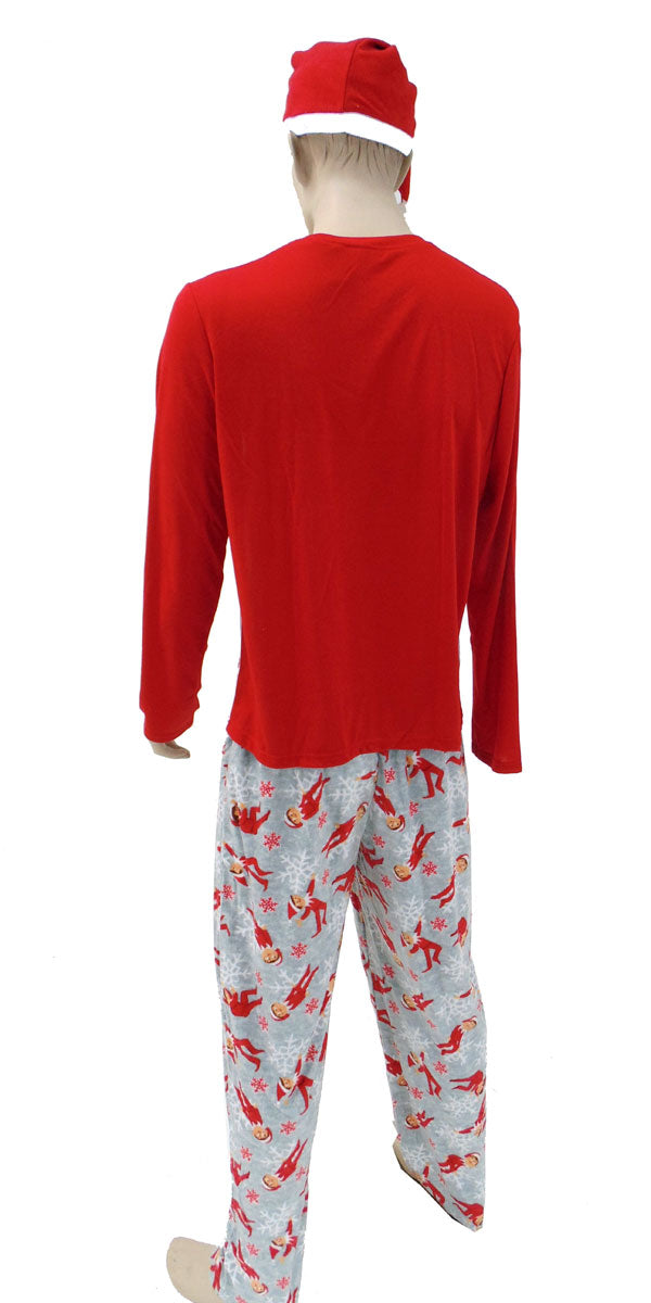 Elf on a Shelf Dad Pajama set for Men 2pc