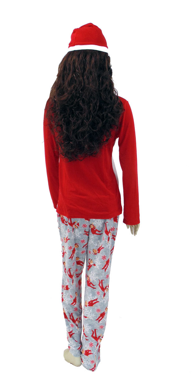 Elf on a Shelf Mom Pajama set for Women 2pc