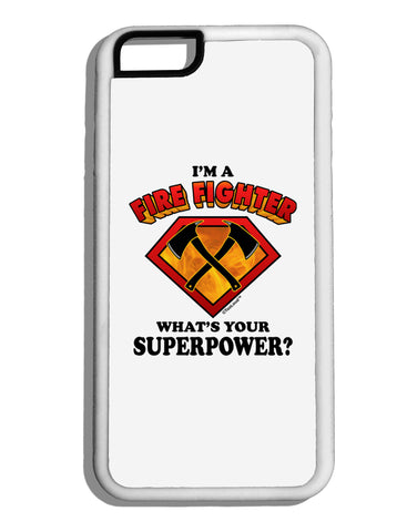 Fire Fighter - Superpower White Dauphin iPhone 6 Cover